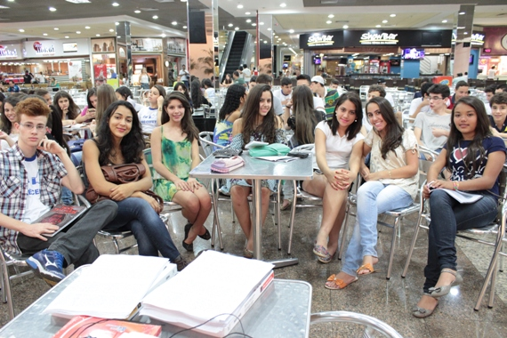 CEFET - Aulão no Shopping 2014